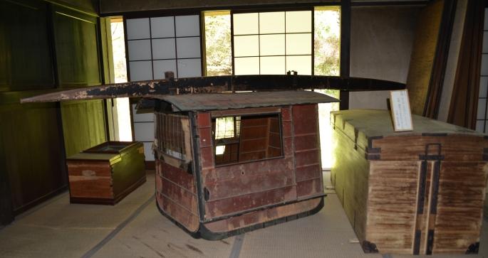Tokaido palanquin, Edo Period