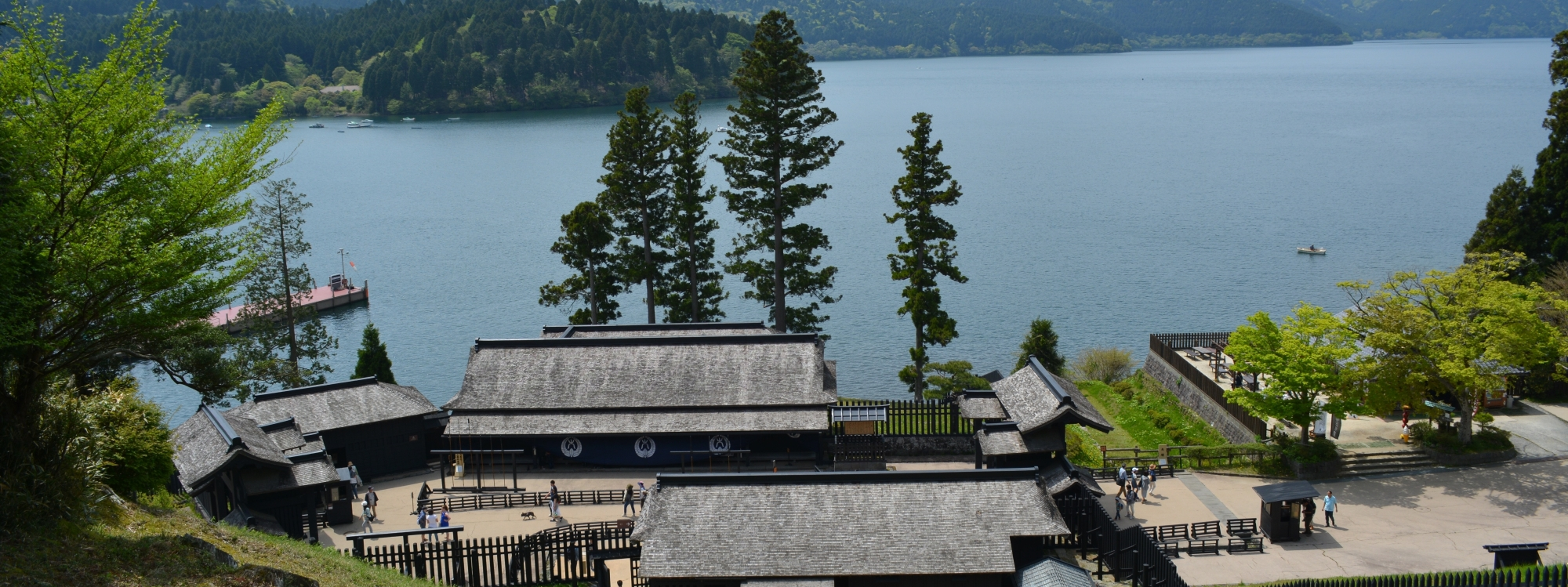 Hakone Checkpoint and Lake Ashinoko