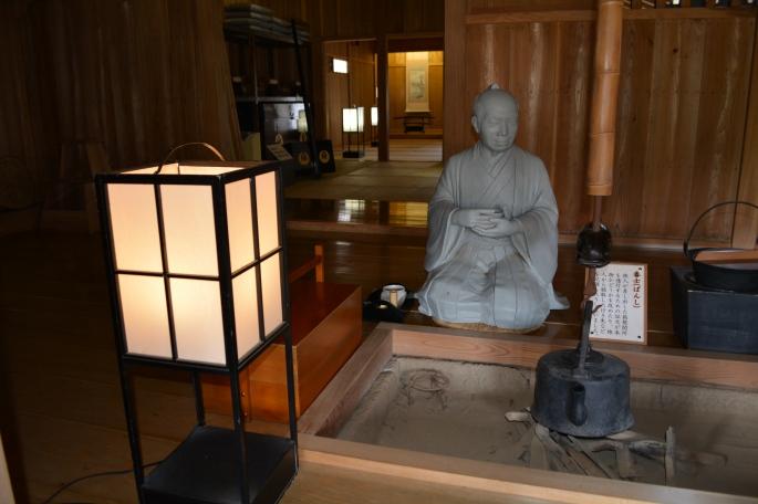 Dioramas describe life at Hakaone Checkpoint in the Edo Period