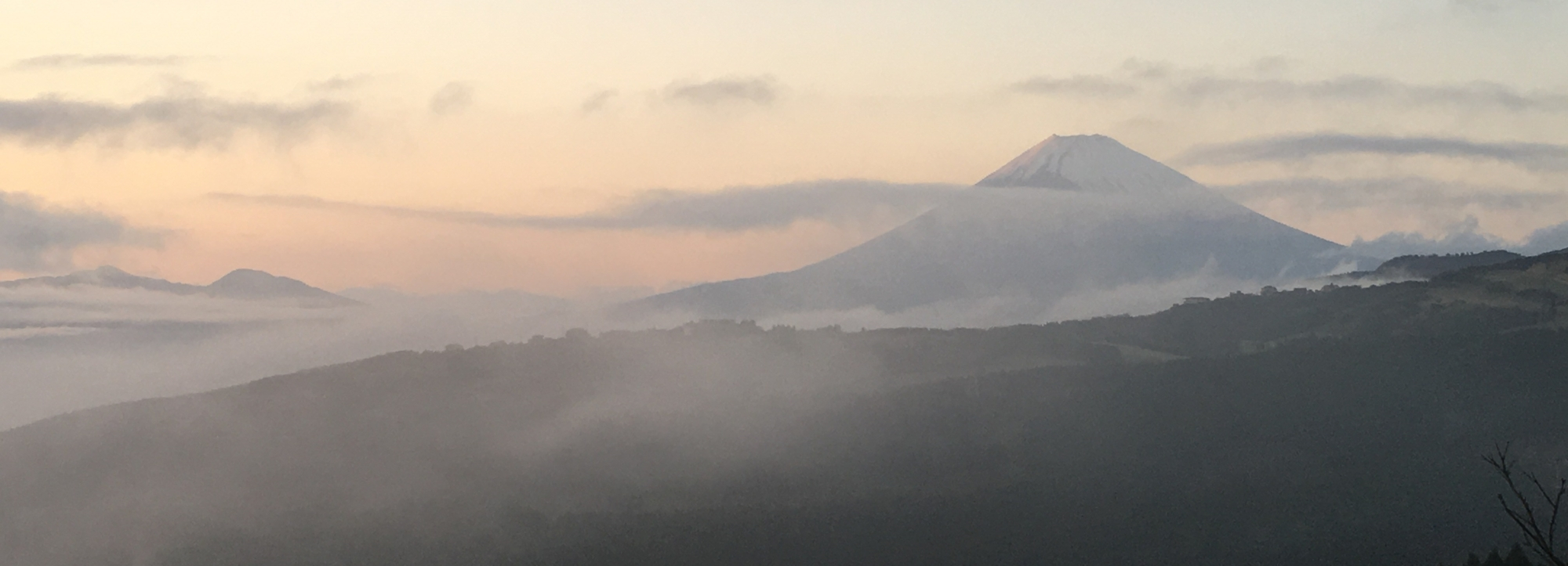 Fuji from Hakone Pass