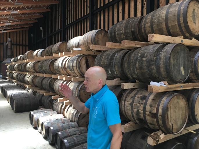 Bourban casks Shizuoka Distillery