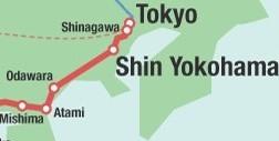Hakone Hachiri access map